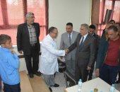 توقيع الكشف الطبى على 15 ألف تلميذ ونظارات لـ 1998أخرين