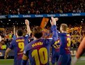 شاهد.. رقص ميسي وأهداف حاسمة فى لحظات لا تنسى بألقاب برشلونة الأخيرة