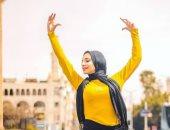 """فراشة مصرية تحلم بالعالمية.. """"روان حسين"""" راقصة بالية محجبة"""