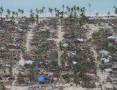 انتشار فرق الإنقاذ بعد انهيار منازل جراء الفيضانات فى موزمبيق