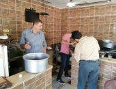 صور.. إعدام أسماك فاسدة وتحرير 13 محضرا تموينيا فى حملة بالوادى الجديد