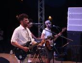 صور.. فرقة أوتوستراد تقدم أجمل أغانيها فى ختام مهرجان ليالى الربيع فى طابا