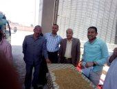 صور .. صومعة منوف تبدأ فى استلام القمح المحلى