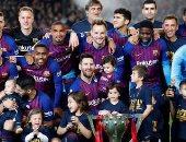 كل أهداف السبت.. ميسي يقود برشلونة لحصد الليجا وسان جيرمان يخسر كأس فرنسا