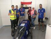 أول نموذج لسيارة مصرية تعمل بغاز الهيدروجين صممها مجموعة من الطلاب