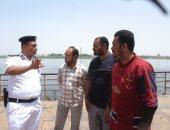 البحث عن جثمان شاب غرق فى مياه النيل أثناء الاستحمام بالعياط