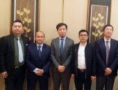 وزير التجارة والصناعة يبحث مع كبريات شركات الغزل الصينية الاستثمار فى مصر