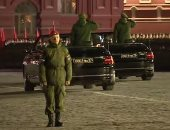 الساحة الحمراء.. أول بروفة ليلية لعرض عسكرى روسى فى عيد النصر ..فيديو وصور