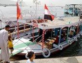 خروج الآلاف للحدائق والمتنزهات والملاهى ونهر النيل للاحتفال بشم النسيم بسوهاج
