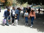 فيديو وصور.. مئات المواطنين يتوافدون على حديقة الحيوان احتفالا بشم النسيم