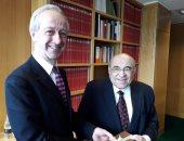 """""""الفقى""""يلتقى مدير المكتبة البريطانية:مواجهة الإرهاب تستدعى تكاتف المؤسسات الثقافية"""