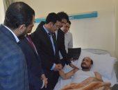 سفير اليمن: نثمن التسهيلات التى يقدمها الأشقاء بمصر للجرحى اليمنيين