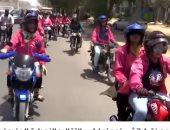 فيديو.. سيدات باكستان يكسرن نمطية التقاليد بقيادة الدراجات النارية