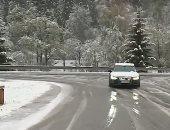 شاهد.. الثلوج تغطى سلوفينيا رغم حلول فصل الربيع