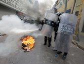 احتجاجات فى هندوراس ضد خصخصة قطاعى التعليم والصحة