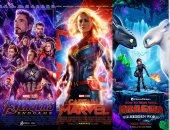 أعلى 5 أفلام عالمية إيرادا قبل الوصول إلى النصف الأول من 2019