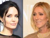 """هل رفضت إنجلينا جولي تجسيد شخصية سيلين ديون في فيلم """"سيرة ذاتية"""" ؟"""