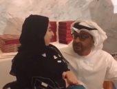 لقطة إنسانية لمحمد بن زايد مع أصحاب القدرات الخاصة .. فيديو وصور