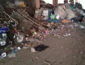 انتشار القمامة بمنطقة ترعة الجبل ومطالب بغزالتها وتوفير صناديق