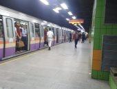 المترو يحذر الجمهور من الجلوس بالمحطات أكثر من ساعتين لتجنب الغرامة