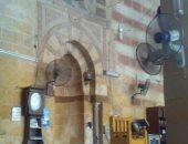 فتح مسجد فاطمة الشقراء بباب الخلق للصلاة مرة أخرى بعد تركيب مئذنته