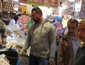 زيادة المعروض من السلع الغذائية وحملات بأسواق وشوادر اللحوم