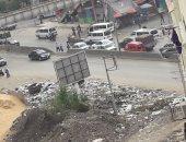 صور.. تراكم القمامة فى شارع إبراهيم عرفة فى طنطا بالغربية