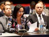 """مايا مرسى لـ""""أفريقية حقوق الانسان"""": مكتسبات المرأة تعرضت لردة أثناء حكم الاخوان"""