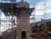 تعرف على تفاصيل فك وتركيب مئذنة مسجد فاطمة الشقراء بعد ترميمها منذ 24عاما