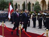 صور.. مراسم استقبال رسمية لرئيس الوزراء والوفد المرافق ببيروت