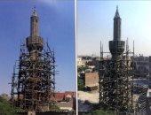 ترميم مئذنة مسجد فاطمة الشقراء الأثرى بتكلفة وصلت مليون و900 ألف جنيه