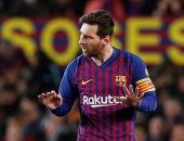 ميسى يستعرض مهاراته الفردية خلال تدريبات برشلونة استعداداً لاوساسونا.. فيديو