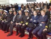 القوات المسلحة تحتفل بتدشين الغواصة المصرية الثالثة وانضمامها للبحرية
