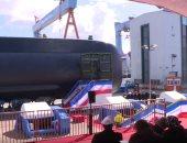 شاهد.. مراسم تدشين غواصة مصرية فى ألمانيا بحضور قائد القوات البحرية