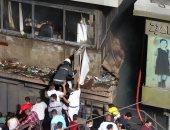 بسبب ارتفاع حرارة الجو اشتعال النيران بمنزلين وإصابة شخصين باختناق