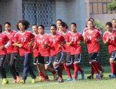 """جهاز منتخب النسائية فى الصعيد لمتابعة لاعبات مشروع """" 1000 بنت 1000 حلم"""""""