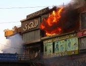 السيطرة على حريق داخل محل فى أرض اللواء وشقة سكنية بالنهضة دون إصابات