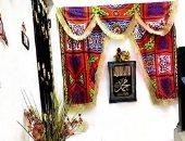هاتوا الفوانيس يا ولاد ..قارئة تشارك بصور زينة رمضان على باب شقتها