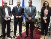 فريق جائزة مصر للتميز الحكومى يزور محافظة البحيرة للتعريف بالمسابقة