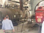 """استجابة لـ""""اليوم السابع"""" جهاز شئون البيئة بطنطا يبحث شكوى الأهالى من مصنع"""