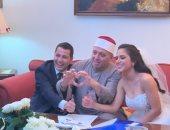 """علا غانم تحتفل بزواج ابنتها نرمين الدفراوى: """"ابنتى هى العروسة الرائعة"""""""