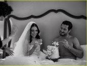 تعرف على سر صور فالنتين شميركوفسكى وجينا جونسون فى شهر العسل