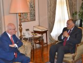 وزير الخارجية يبحث مع مسئول ألمانى سبل التعاون بين القاهرة وبرلين