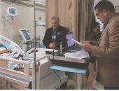 إيفاد 62 مأمورية لاستخراج بطاقة الرقم القومى للمرضى بمنازلهم