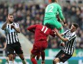 سكاي سبورتس: محمد صلاح شاهد مباراة نيوكاسل ضد ليفربول من غرفة الملابس