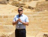 وزير الآثار يعلن اكتشاف مقبرة لكاهنين من عصر الدولة القديمة فى الهرم