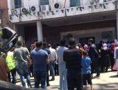 تظاهرات فى طرابلس بسبب عدم توافر السيولة بالمصارف والمليشيات تفرقها بالرصاص