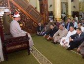 محافظ بنى سويف يشهد الاحتفال برؤية هلال شهر رمضان