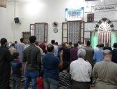 صور.. صلاة التراويح فى أول أيام شهر رمضان بمسجد سيدى زوين بالمنوفية