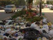 شكوى من انتشار القمامة بشارع وادى النيل بالمهندسين